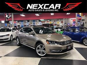 2015 Volkswagen Passat 1.8 TSI HIGHLINE AUT0 NAVI LEATHER SUNROO