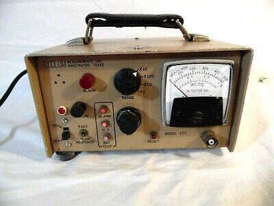 Ludlum Model 177 Alarm Rate Meter 3172005