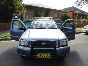 2001 Nissan pathfinder ti 4x4 drives well many extras wont last Haberfield Ashfield Area Preview