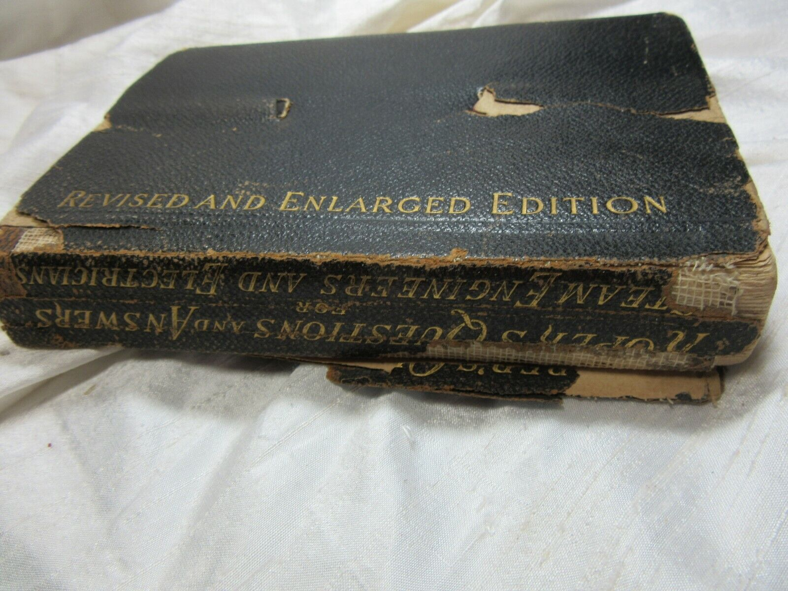 1897 Roper's Questions and Answers for Engineers and Electricians Reference Book