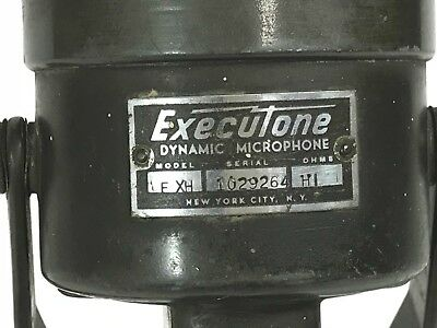 Executone Model FXH Microphone