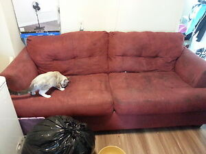 red swade couch set obo Kitchener / Waterloo Kitchener Area image 1