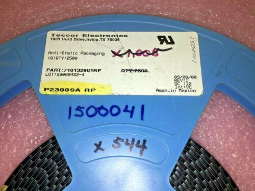 (25 PIECE LOT) P2300SARP, 710132901RP, TECCOR, THYRISTOR 190V 150A DO214AA