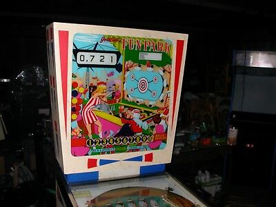 "1968 ""FUN PARK"" A-A-B Pinball- production 580 units (Restored to Museum Quality)"
