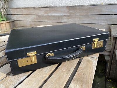 Attache Case En Cuir Noir Tanner Krolle - Etat Neuf
