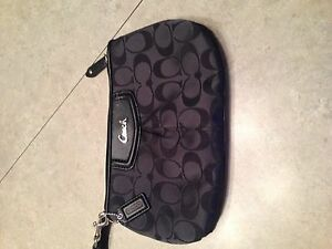 Beautiful Large Size Coach Wristlet