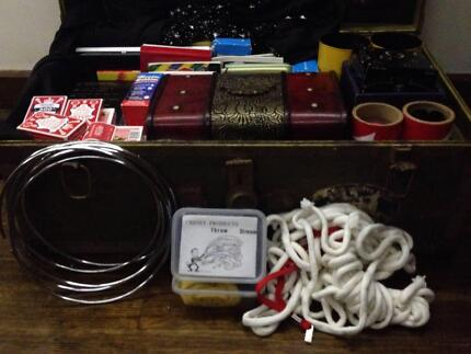 Magician's Trunk full of magical props, books, DVD's Rosetta Glenorchy Area Preview