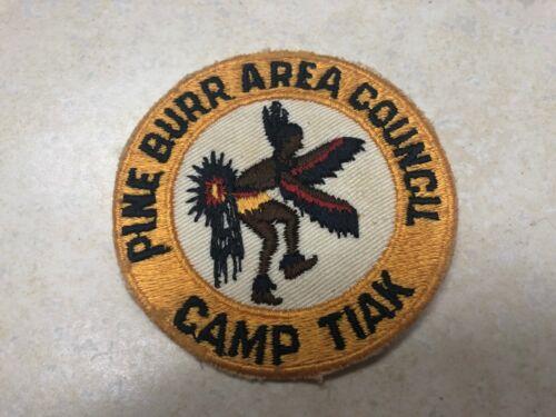 Camp Tiak Camp Patch - Pine Burr Area Council