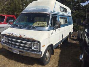 1976 Dodge Camper Van V8 on Propane