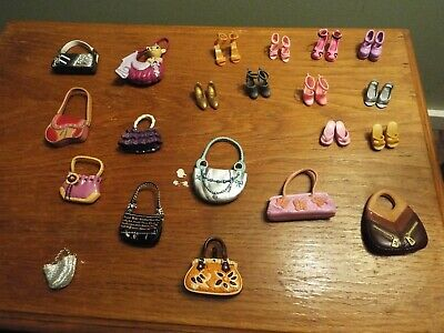 10 Pairs of Shoes and 11 Purses for Barbie