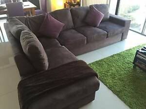 Used 5 seater sofa w/ chaise Mascot Rockdale Area Preview