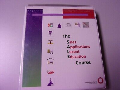 1980s Vintage Lucent Pbx Training Package For Authorized Dealers Complete Rare