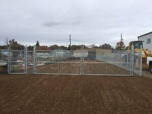 Fenced compound for rent