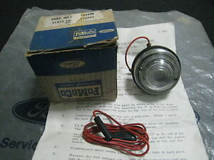 MK1 CORTINA GT  LOTUS CONSUL CORSAIR GENUINE FORD NOS REVERSE LAMP KIT