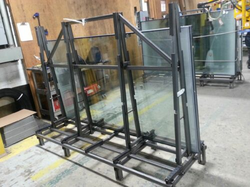 Both Sided STEEL A-FRAME Glass/Granite Rack, Glass Transport