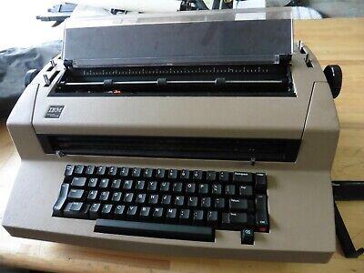 Vintage Ibm Correcting Selectric Iii Electric Typewriter Not Working Powers On