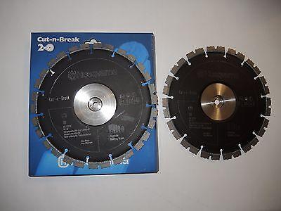 Original Husqvarna EL 35  Diamanttrennscheibe Kit 2x 230 mm Cut-N-Break NEU