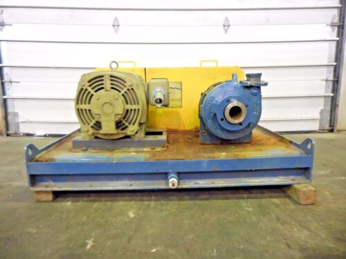 "RX-3644, METSO HM75 LHC-D 3"" x 2"" SLURRY PUMP W/ 40HP MOTOR AND FRAME"