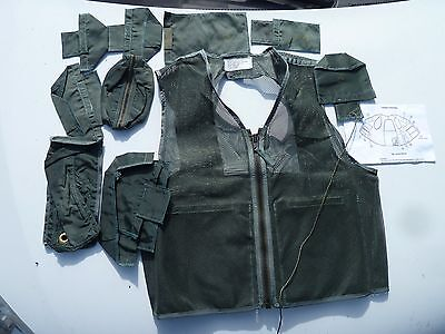 SRU-21P Survival Vest USAF Pilot's Survival Equipment Vest Large FREE Shipping