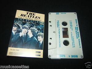 THE-BEATLES-ROCK-N-ROLL-MUSIC-VOLUME-2-1ST-PRESS-AUSTRALIAN-CASSETTE-TAPE