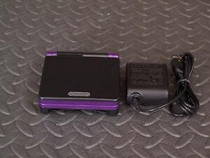 Nintendo Game Boy Advance SP Black and Purple System AGS001