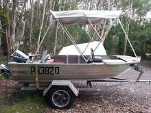 2003 Stacer Proline V-nose Punt 3.7m 15hp Evinrude Weyba Downs Noosa Area Preview