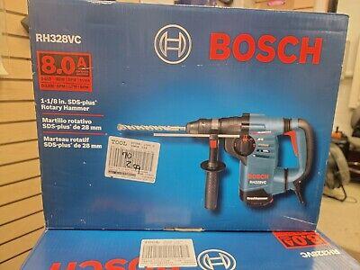 Bosch Rh328vc 8.0 Amp 1-18 Sds Plus Rotary Hammer- Open Box