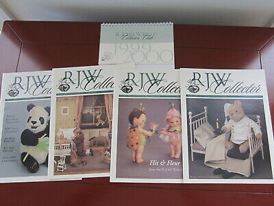 R John Wright Collector Club 1999 Magazines Volume #4  Numbers 1-2-3-4 FREE SHIP