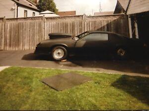 1982 Z28 Camaro Drag Car