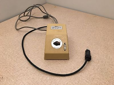 Nikon Xn Transformer Power Supply And Microscope Lamp