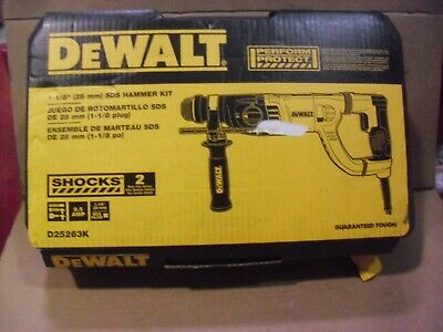 Dewalt 1-18 Sds Plus Rotary Hammer D25263k