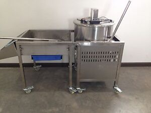 kettle corn gourmet popcorn popper 80 quart (NEW) commercial machine