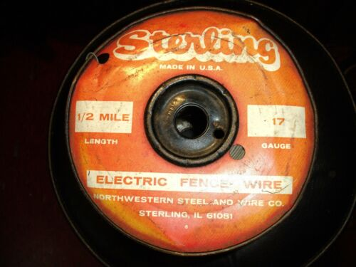 STERLING 17 GAUGE 1/2 MILE ELECTRIC FENCE WIRE