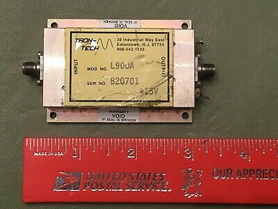 Trontech Low Noise Amplifier - Removed From Working Equipment
