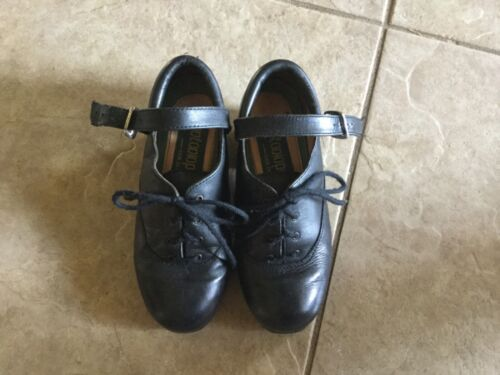 Antonio Pacelli youth Irish dance hard jig shoes size 12.5