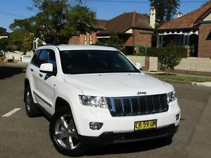 2013 Jeep Grand Cherokee LIMITED Automatic SUV turbo diesel Haberfield Ashfield Area Preview