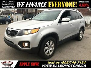 2012 Kia Sorento LX V6| AWD | 7 PASSENGER| HEATED SEATS
