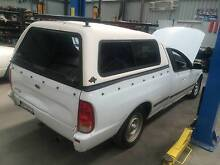 Ford Falcon au ba bf flexiglass canopy with heavy duty racks Bacchus Marsh Moorabool Area Preview