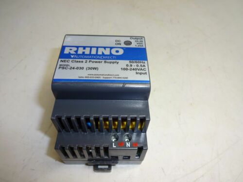 AUTOMATION DIRECT PSC-24-030  RHINO SWITCHING POWER SUPPLY