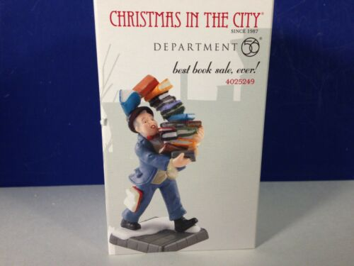 Dept 56 CIC Christmas in the City BEST BOOK SALE EVER 4025249 Brand New! RARE!
