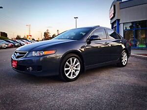 2006 ACURA TSX LEATHER | CERTIFIED | LOW KM | WINTER TIRES