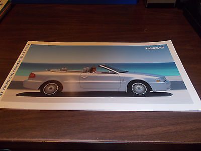 2002 Volvo C70 Convertible/Coupe 18-Page Deluxe Sales Catalog  ()