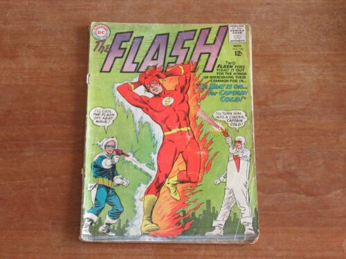 FLASH #140 KEY SILVER AGE ORIGIN & 1ST APPEARANCE OF HEAT WAVE CAPT COLD COVER