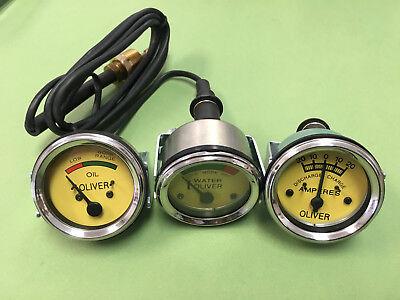 Oliver Super 55 66 77 88 99 Tractor Gauge Set Kit Oil Pressure Amp Temperature