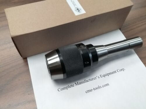 "R8 Ball Bearing Keyless Drill Chucks 1/2"" Integral design #DCK-R8-12"