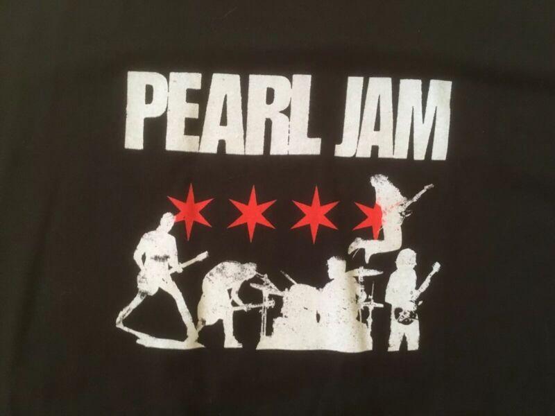 Pearl Jam Chicago Tour Shirt Men