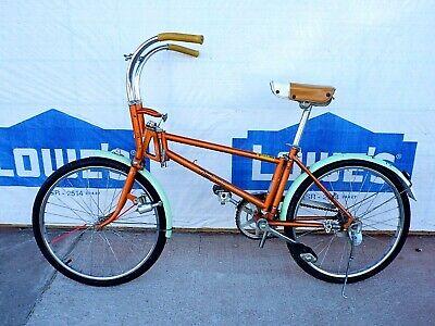 "Hunt Wilde MXF Schwinn Sting BMX bicycle bike grips 7//8/"" *MADE IN USA* BLUE"