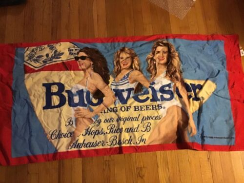 Budweiser Beach Towel