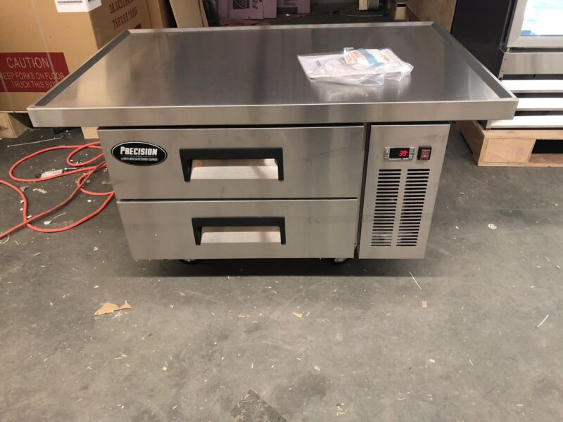 """48"""" Chef Base Refrigerator 2 Draw Grill Stand Cooler"""