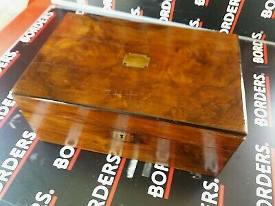 Clean Antique Writing Slope Box